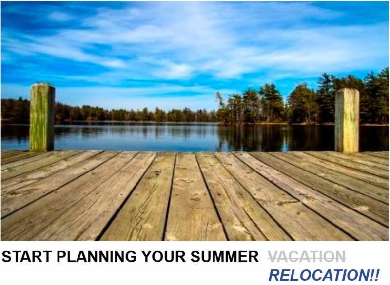 Start Planning Your Summer Relocation