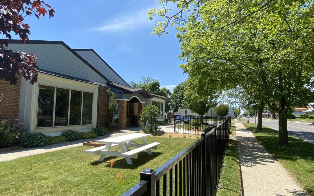 Mini Grants Help Spruce up Outdoor Areas